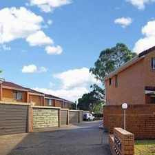 Rental info for Renovated 3 Bedroom Townhouse in the Sydney area