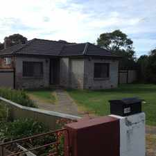 Rental info for Handy Location with Large Rear Sheds in the Albion Park area