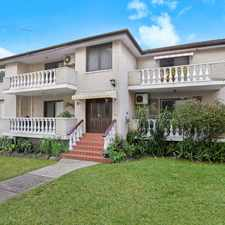 Rental info for Large Two Bedroom Apartment in the Belmore area