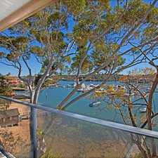 Rental info for Stunning Waterfront Apartment in the Hunters Hill area