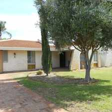 Rental info for LOVELY 3 BEDROOM, 1 BATHROOM HOUSE IN A QUIET LOCATION in the Shoalwater area
