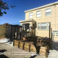 Rental info for 1074 45th St Emeryville in the Longfellow area