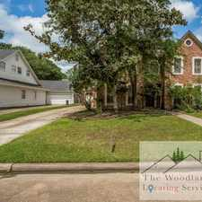 Rental info for 5631 Spring Lodge Dr. in the Lake Houston area
