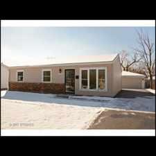 Rental info for Rehabbed 3 bedroom on quiet street! 2 car garage!