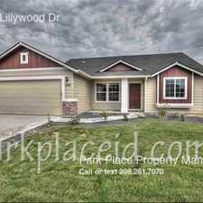 Rental info for 9981 W Lillywood Dr
