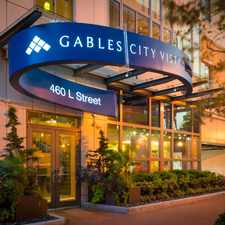 Rental info for Gables City Vista in the Downtown-Penn Quarter-Chinatown area