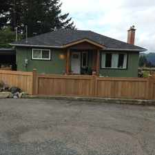 Rental info for Cute 3 Bedroom House in the Port Alberni area