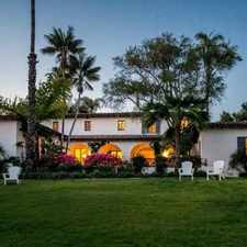 Rental info for 1915 Las Tunas Rd in the Santa Barbara area