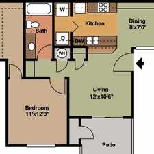 Rental info for 2 bedrooms - Welcome to Rockwood Apartments. $665/mo