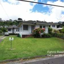 Rental info for 2316 A Kaneali'i Ave