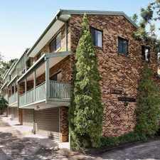Rental info for Spacious 3 level townhouse in excellent condition! in the Taringa area