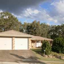 Rental info for *** TENANT APPLICATION APPROVED *** 4 BED, ENSUITE + DOUBLE LOCK UP GARAGE IN SOUGHT-AFTER SIINNAMON PARK