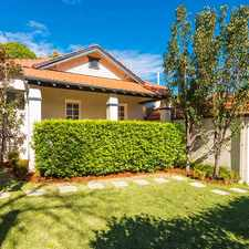 Rental info for Beautifully appointed all-round family residence in the Artarmon area