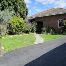 Rental info for FANTASTIC AND WELL PRESENTED HOME IN A BRILLIANT LOCATION in the Melbourne area