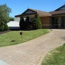 Rental info for GREAT FAMILY HOME!!! in the Perth area