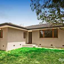 Rental info for RENOVATED FUNCTIONAL HOUSE CONVENIENT LOCATION in the Melbourne area
