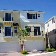 Rental info for FANTASTIC TOWNHOME, EAST BOCA, MINUTE FROM FAU, SO CLOSE TO BEACH! in the Boca Raton Hills area