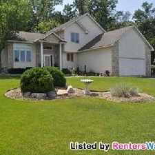 Rental info for Stunning Executive 4bd/3ba Home In Lakeville.