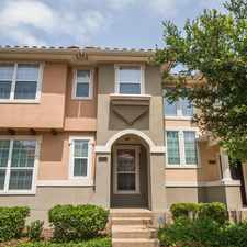 Rental info for 6834 Deseo in the Irving area