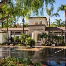 Rental info for Avila at Rancho Santa Margarita in the Rancho Santa Margarita area