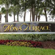 Rental info for LIVE IN LAKE NONA, FREE CABLE/INTERNET, BRAND NEW HOME!