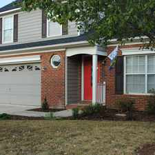 Rental info for 3308 Hard Rock Ct. in the Indian Trail area