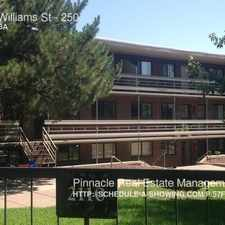 Rental info for 2110 Williams St in the City Park West area