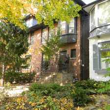 Rental info for 122 MacPherson Avenue in the Yonge-St.Clair area