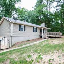 Rental info for 4232 Anneewakee Road