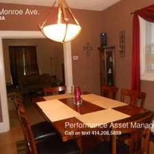 Rental info for 1311 Monroe Ave. in the South Milwaukee area