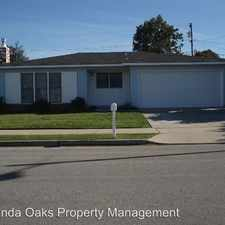 Rental info for 3912 Crestmont Court in the Orcutt area