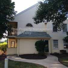 Rental info for Charming, low maintenance 2 bedroom available now!