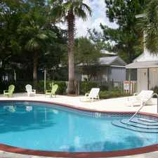 Rental info for 2 bedroom with community pool & gym.