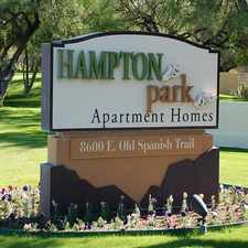 Rental info for Hampton Park in the Tucson area