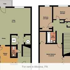 Rental info for 2 bedrooms Apartment - A great find in Altoona.