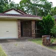 Rental info for TIDY THREE BEDROOM VILLA, BACKS TO PARKLAND, NEW CARPETS TO BE INSTALLED, BE QUICK TO VIEW in the Brisbane area