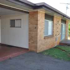 Rental info for Brilliant Location - Very Neat Unit! in the South Toowoomba area