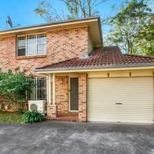Rental info for Open Plan 2 Bedroom Townhouse in the Wollongong area