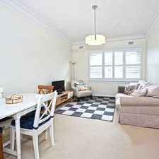Rental info for LARGE & BRIGHT ONE BEDROOM IN WATER FRONT BUILDING in the Rushcutters Bay area