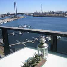 Rental info for DOCK 5 - Stunning waterfront security apartment