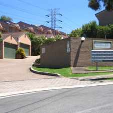 Rental info for 3 BEDROOM TOWNHOUSE IN NORTHMEAD in the Northmead area