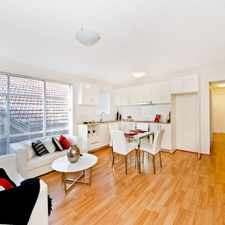 Rental info for DEPOSIT TAKEN - UNFURNISHED STYLISH 2 BEDROOM APARTMENT WITH RACECOURSE VIEWS in the Kensington area