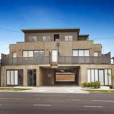 Rental info for MODERN APARTMENT AND LOW MAINTENANCE LIVING in the Bentleigh East area