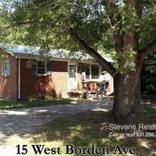 Rental info for 15 West Borden Street