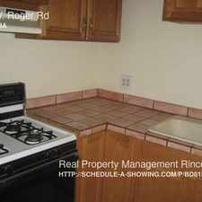 Rental info for 214 W. Roger Rd in the Amphi area