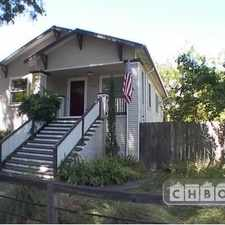 Rental info for Two Bedroom In Sacramento in the North Oak Park area