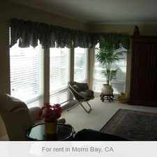 Rental info for This updated home is located at the top of a quiet in Morro Bay. Carport parking!