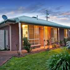 Rental info for Lovely 3 bedroom family home in great location!UNDER APPLICATION in the Melbourne area