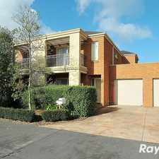 Rental info for Three bedrooms only 10 minutes from Mitcham station in the Nunawading area