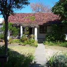 Rental info for OLD STYLE HOME in the Nollamara area